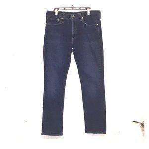 Levi's 511 men's dark rinse jeans 36x32